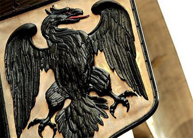 Black Spread Eagle