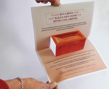 Campaign leaflet