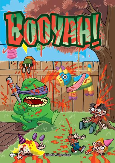 Booyah comic