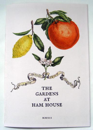 Garden of reason booklet cover image