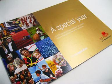 Co-op Anniversary brochure
