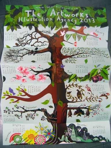 Artworks calendar