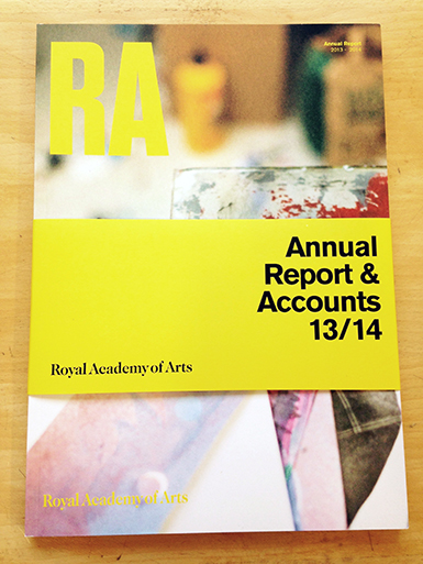 Royal Academy Annual Report