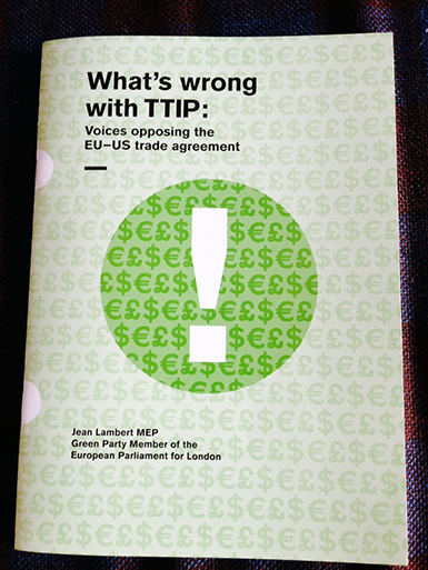 What's wrong with TTIP