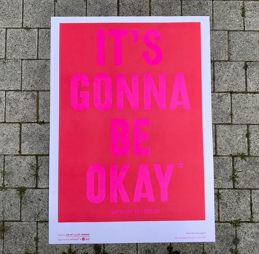 It's gonna be okay