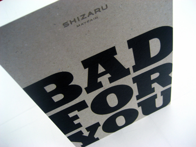 BAD FOR YOU invite