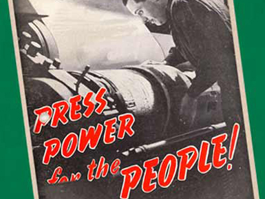 Press power for the people