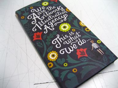 Artwork cover wrap