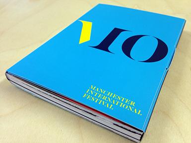 Manchester International Festival postcard book cover