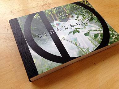 Postcard book cover for Circleline design